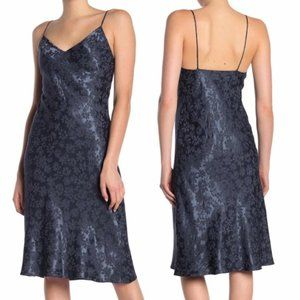Rag & Bone Astrid Slip Dress Brocade Lined Grey 4